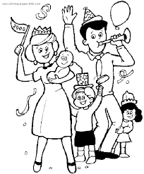 Small Picture Family color page Coloring pages for kids Family People and