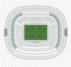 Estadio Azteca Seating Chart Soccer Cartoon Png Download 1146 1080 Free Transparent