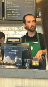 this guy served me at my local starbucks his tag made me this guy served me at my local starbucks his tag made me giggle