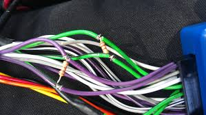 parrot mki9100 install issues jeepforum com Parrot Mki9100 Wiring Diagram the pic below was me testing various ohm resistors and how they're wired up to which leads on the parrot brain parrot mki9100 wiring diagram