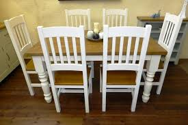 painting oak dining room furniture. oak \u0026 painted table chairs - 50% deposit with painting dining room furniture n