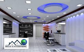 ceiling design for office. Spa Salon False Ceiling, Deep Enterprise, Ceiling Contractor, Design For Office