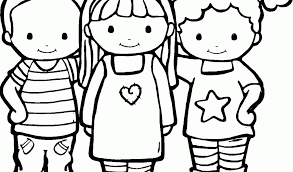 Small Picture Friendship Coloring Pages wwwkibogaleriecom