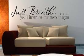 full size of just breathe wall art sticker e living room bedroom hallway kitchen decals 3 large
