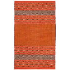 montauk orange red 2 ft 6 in x 4 ft area rug