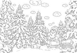 Christmas Coloring Pages Adult 8 Noscaorg