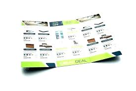 11x17 Trifold Template 11 X 17 Trifold Template