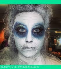 ghost special effects makeup using basic eyeshadow emily k s emikaybeauty photo beautylish