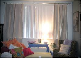 Drapes Over Blinds Interior White Vertical Blinds Mixed With ...