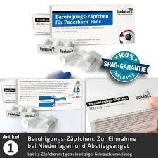 30 Süße Schmerzmittel Bundesliga Notfall Set Geburtstag Witziges