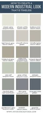 Industrial Paint Colour Chart 185 Best House Paint Colours Images In 2019 House Colors
