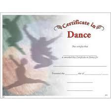 Dance Award Certificate Details About Dance Award Certificate Pack Of 15