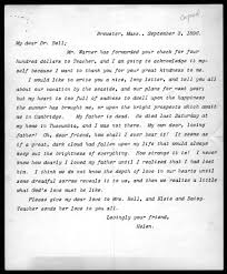 letter from helen keller to alexander graham bell  letter from helen keller to alexander graham bell 3 1896 library of congress