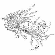 動物のイラスト 鳳凰不死鳥イラストの画像素材 イラストcgの