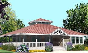 hip cottage with wrap around porch