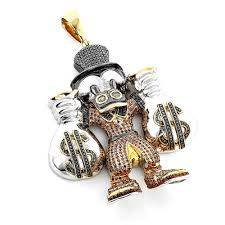 cartoon characters scrooge mcduck diamond pendant in sterling silver 4 25ct cartoon characters scrooge