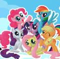 Игры раскраски пони радуга