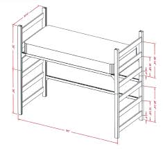 Twin Size Headboard Dimensions Bedroom Bed Mattress Sizes Kids Beds With Storage Bunk Slide And