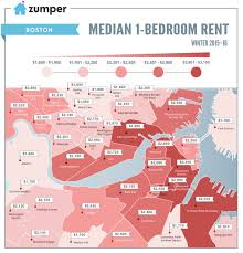 Median 1 Bedroom Rentals In Boston | BosGuy