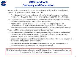 Pm And Srb Handbooks A Hitchhiker S Guide To The Universe Of Npr