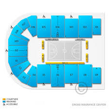 Cross Center Seating Chart Bearcats Vs Black Bears Sun Jan 19 2020