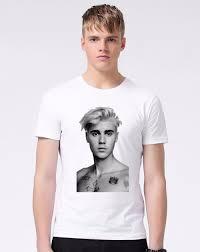 Justin Bieber T Shirt Design Us 15 99 Justin Bieber T Shirt Men Women Hip Hop Hole Sleeve O Neck T Shirt Tee Brand Clothing Personality Design Big Boy T Shirt M600 In T Shirts