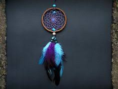 Small Dream Catchers For Sale Small dream catcher rear view mirror charm hanging car decor 48