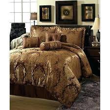 brown comforter queen brown and orange comforter sets beautiful rich brown gold hue burnt orange comforter