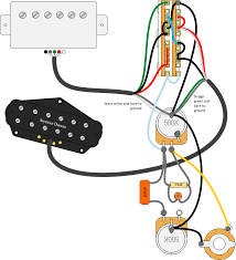 wiring diagram two single coil pickups wirdig the positions on the switch going from bridge to neck are wired to