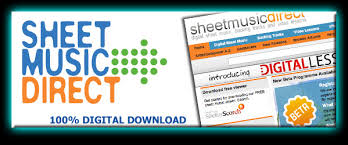 sheet music direct us books consumer music