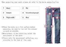 Womens Jeans Size Chart Length Uniqlo Size Chart