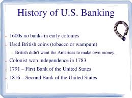 Ppt History Of U S Banking Powerpoint Presentation Id 2674212