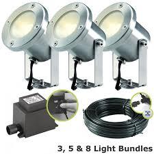 techmar catalpa garden led spotlight kit