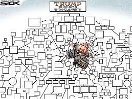 Flow Chart Cartoon Sack Cartoon Trump A Flow Chart Star Tribune