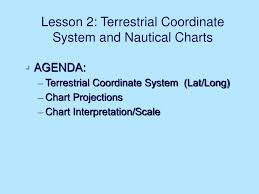 Ppt Lesson 2 Terrestrial Coordinate System And Nautical