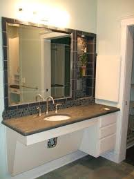 Handicapped Bathroom Extraordinary Handicap Vanity Cabinets Ada Bathroom Vanity Cabinets Pictures