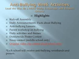 page essay on bullying YouTube