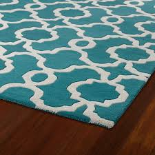 white and teal area rug home depot