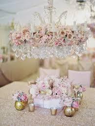 glamorous chandeliers wedding decor ideas