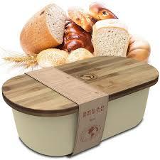 superearth breadbox storage basket container bin