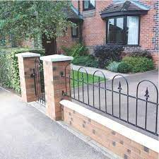 idea for front garden wall front