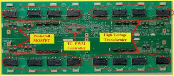 lcd led tv repair tips training manual repair guide lcd tv inverter board