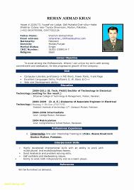 Ms Word Resume Template Download Inspirational Job Resume Templates