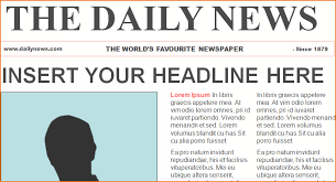 news article format newspaper format word