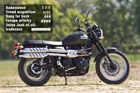 triumph scrambler ten bikes with soul and character cw feature