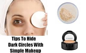 tips to hide dark circles with simple makeup how to use makeup to conceal dark circles gilscosmo ping made easy