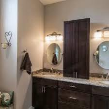 bathroom counter storage tower. contemporary master bathroom vanity with storage tower counter