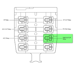 fog light relay block picture or diagram toyota nation forum report this image