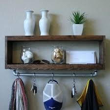 Hanging Coat Rack With Shelf coat rack shelves patterndme 93