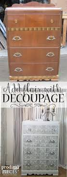 diy decoupage furniture. Add Flair To Your Furniture With Decoupage ~ DIY Tutorial By Prodigal Pieces | Www. Diy F